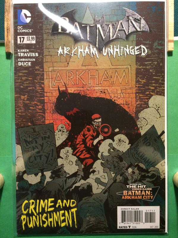 Batman Arkham Unhinged #17 The New 52