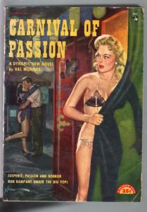 Carnival Of Passion #115 1940's-Val Munroe-George Gross spicy cover-G/VG
