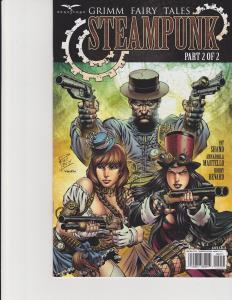 Grimm Fairy Tales Steampunk #2 Cover A Zenescope Comic GFT NM Rei