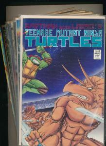 Marvel LOTof 8-Eastman&Laird'sTEENAGE MUTANT NINJA TURTLES#6,8-13,49 F/VF(PJ123)