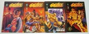 Ogre #1-4 VF/NM complete series - black diamond comics set lot 2 3