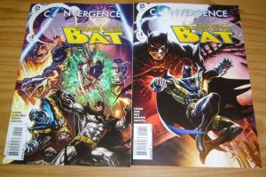 Convergence Batman: Shadow of the Bat #1-2 VF/NM complete series  larry hama set