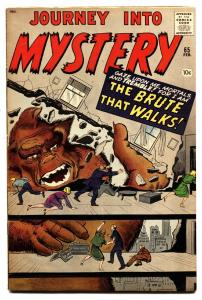 Journey Into Mystery #65 comic book 1961- horror- Ditko- Kirby
