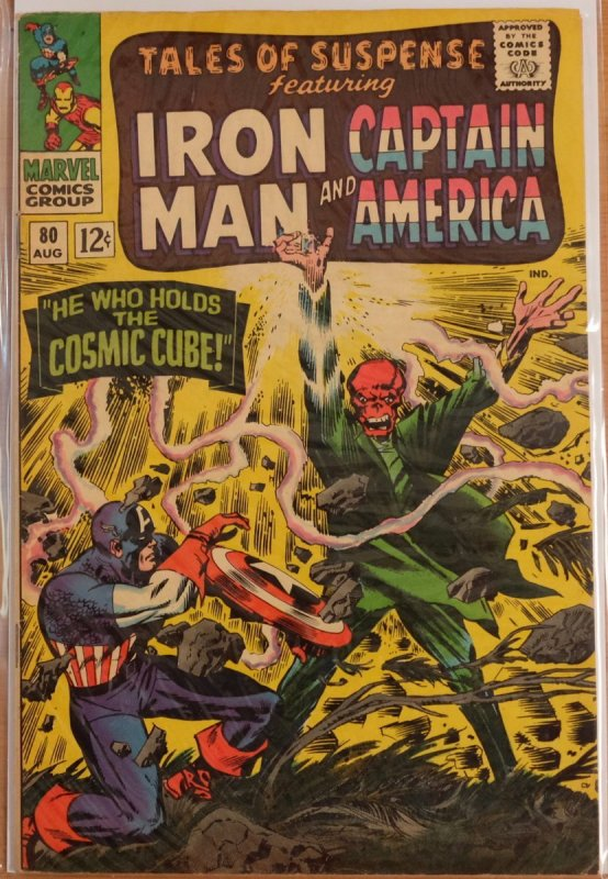 Tales of Suspense #80 (1966) Very Good Fine 5.0 - Classic Cosmic Cube Red Skull