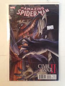 Amazing Spider-man 4 Variant Near Mint Civil War 2 Tie In