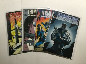 Terminator Secondary Objectives 1-4 1 2 3 4 Near Mint Nm Dark Horse Comics