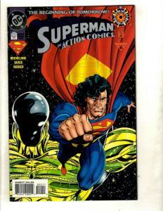 10 The Beginning of Tomorrow DC Comics 0 Superman Action Comics Robin J362