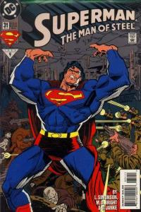 SUPERMAN: MAN OF STEEL (1991 DC) #31 NM- A95710
