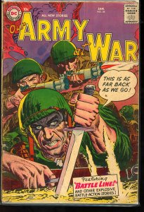 Our Army at War #54 (1957)