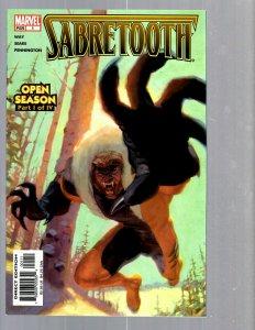 12 Comics Sabertooth 1 2 Special #1 Secrets of House #1 Secret Invasion 1-8 EK17