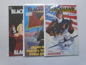 Blackhawk #1-3 - 6.0 FN - 1988