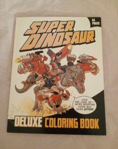 SUPER DINOSAUR DELUXE COLORING BOOK (2011 Series) #1 Image Comics NEW