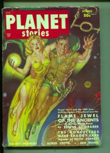 Planet Stories-Pulp-Spring/1950-Ray Bradbury-Forever And The Earth
