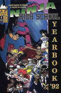 Ninja High School Yearbook #4 FN; Malibu | save on shipping - details inside