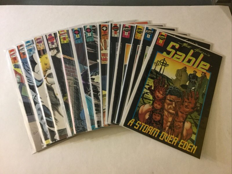 Sable 3-11 13 15-27 Nm Near Mint First Comics