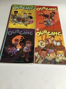 Walt Kelly's Our Gang Volume 1-4 SC Softcover Oversized