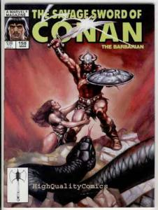 SAVAGE SWORD of CONAN #158, VF+, Snake, King Kull,Ernie Chan,more SSOC in store