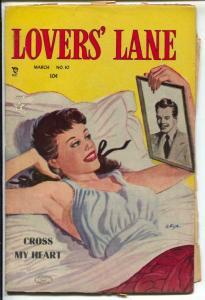 Lover's Lane #10 1951-Lev Gleason-lingerie cover-Bob Fuse-VG/FN
