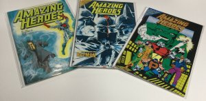 Amazing Heroes 76 84 108 Vf Very Fine 8.0