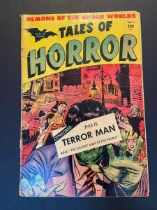 Tales of Horror 1 GD (Toby Press June 1952) Pre Code Horror