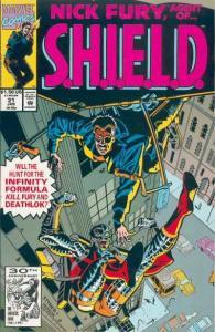 Nick Fury: Agent of SHIELD (1989 series) #31, NM- (Stock photo)
