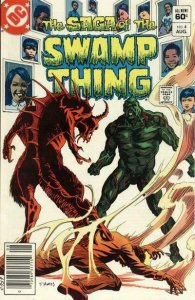Saga of the Swamp Thing, The #4 (Newsstand) VG; DC | low grade comic - save on s
