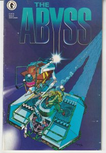The Abyss # 2  Dark Horse's Adaptation of James Cameron's Film !
