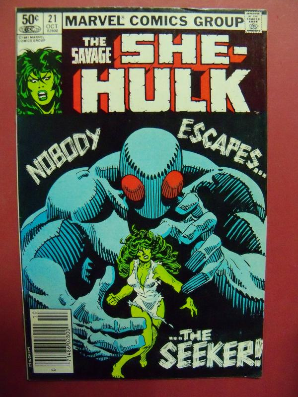 THE SAVAGE SHE-HULK #21  VF/NM (9.0) OR BETTER  MARVEL COMICS