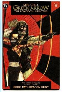 Green Arrow: The Longbow Hunters #2 1987 comic book DC
