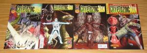 Cryptozoic Man #1-4 VF/NM complete series by comic book men bryan johnson set