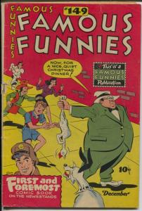 Famous Funnies #149 1946-Buck Rogers-Scorchy Smith-Steve Roper-Dickie Dare-FR