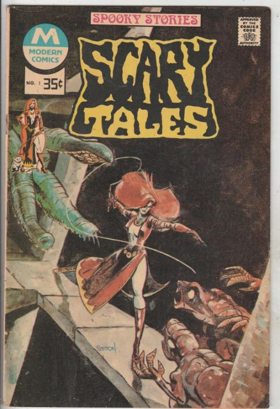 Scary Tales #1 (Jan-77) NM- High-Grade Vampires