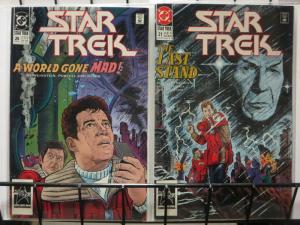 STAR TREK 20-21 GOD'S GAUNTLET complete story
