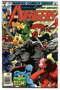AVENGERS #188 COMIC BOOK 1st ELEMENTS OF DOOM Marvel NM-