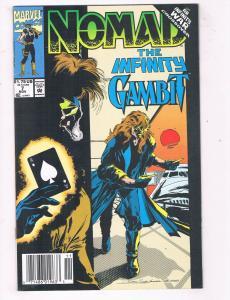 Nomad #7 VF Marvel Comics The Infinity Gambit Comic Book X-Men Nov 1992 DE44