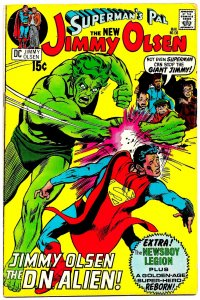 SUPERMAN'S PAL, JIMMY OLSEN #136 (March1971) 8.0 VF •• 4th JACK KIRBY issue!