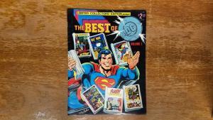 The Best Of DC Volume 1 Limited Collectors Edition Comics Superman Batman BW2