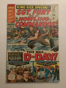 Sgt Fury And His Howling Commandos King-Size Special 2 Very Good/fine 5.0 Marvel