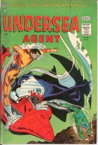 UNDERSEA AGENT 3 VG-F June 1966 COMICS BOOK