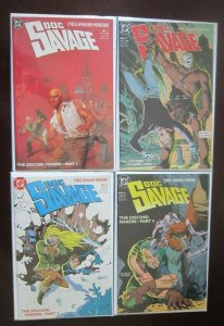 Doc Savage comic lot all 21 different books 8.0 VF DC & Millennium