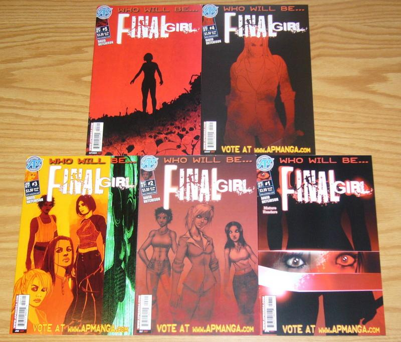 Who Will Be ... Final Girl #1-5 VF/NM complete series - antarctic press set lot