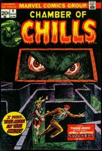 Chamber of Chills #9 1974- Marvel Comics- Horror VF