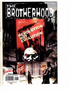 Lot Of 5 The Brotherhood Marvel Comic Books # 1 2 (2 Copies, 1 Variant) 3 4  GM6