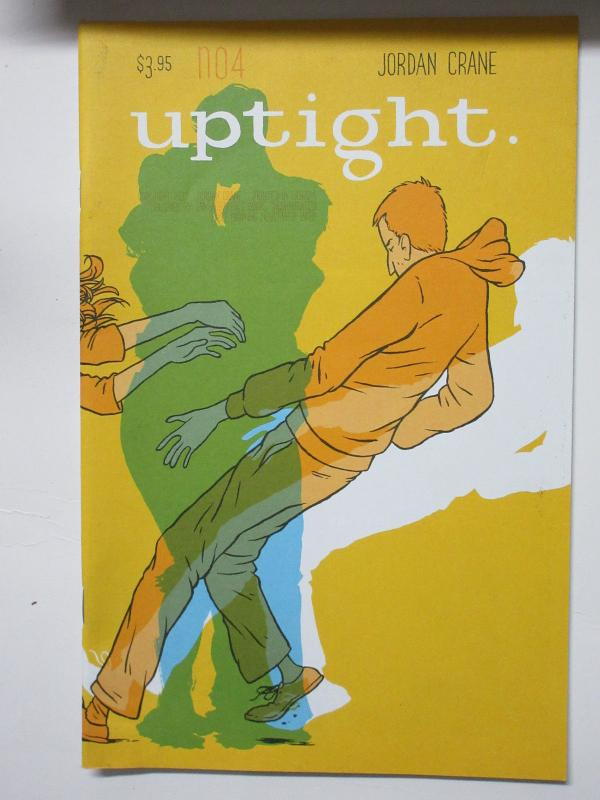 Uptight #4 by Jordan Crane (Fantagraphics 2007) Adult Malaise and Angst