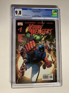 Young avengers 1 cgc 9.8 wp 1st appearance 2005 Series