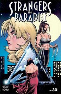 Strangers in Paradise (1996 series) #30, NM- (Stock photo)
