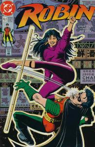 Robin (Mini-Series) #4 FN; DC | save on shipping - details inside