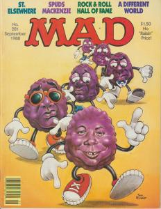 MAD MAGAZINE #281 - HUMOR COMIC MAGAZINE