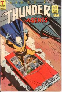 THUNDER AGENTS 7 F-VF   August 1966 COMICS BOOK