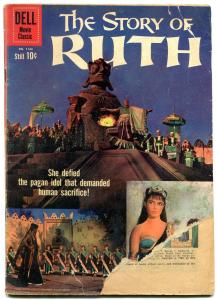 Story of Ruth- Four Color Comics #1144 1960- Dell Movie edition G-